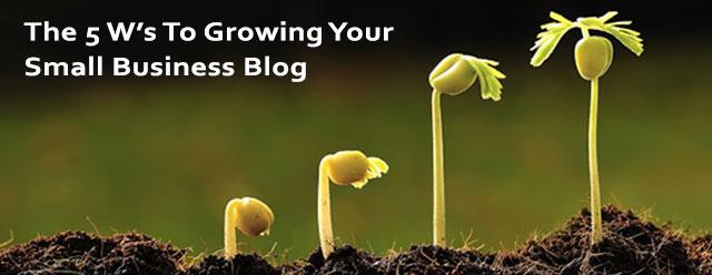 Small business blogging seo