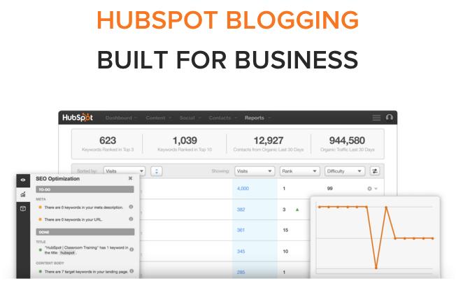 hubspot blogging for business
