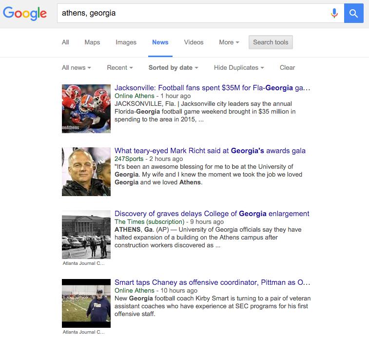 google news local seo