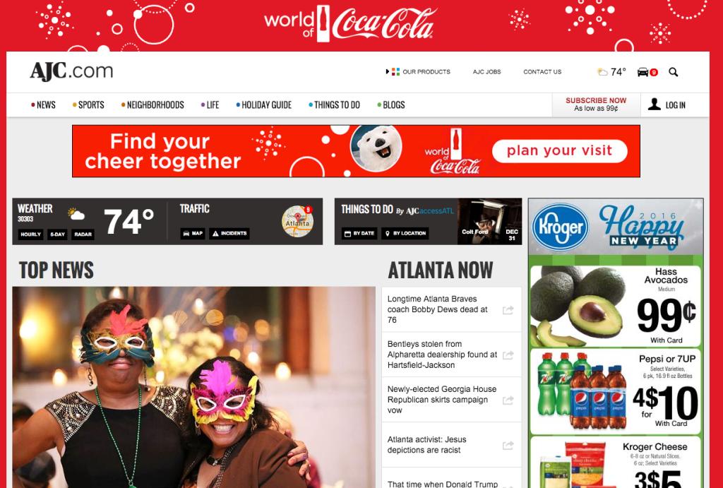online newspaper ads