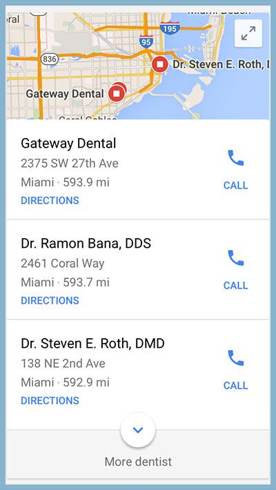 local seo dentist in miami