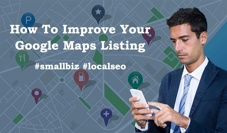 improve google maps listings
