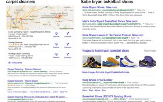 Local SEO vs Organic SEO Google Search Results