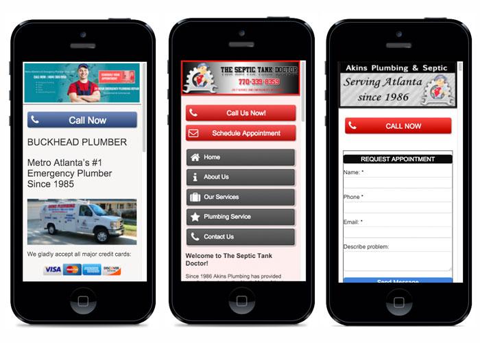 Plumbers Mobile Sites Local SEO