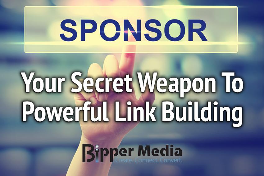 SEO Link Building through Sponsorships