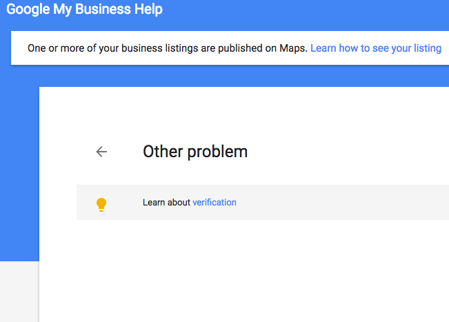 call google local support gone