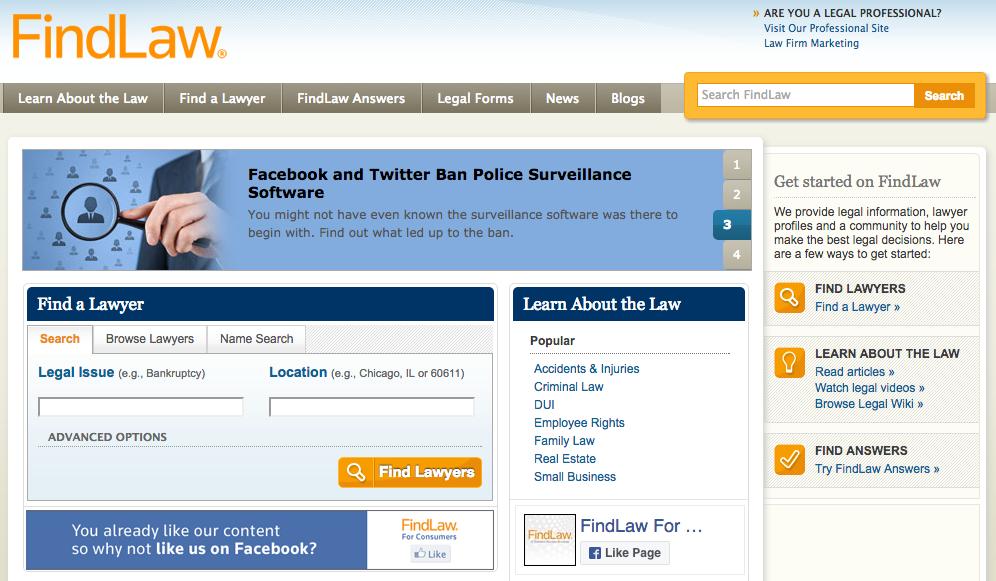 Findlaw Law Firm Directory
