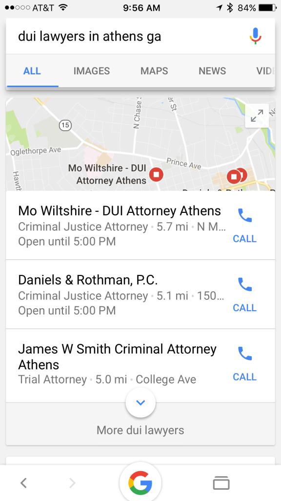 DUI Lawyers Local SEO Tips