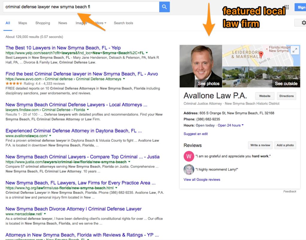 google local search local seo monopoly