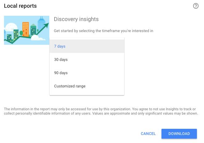 Local SEO Data Insights