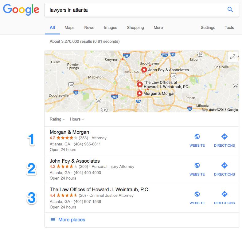 Improve Google Maps Rankings Local SEO