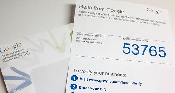 google my business postcard gmb postcard