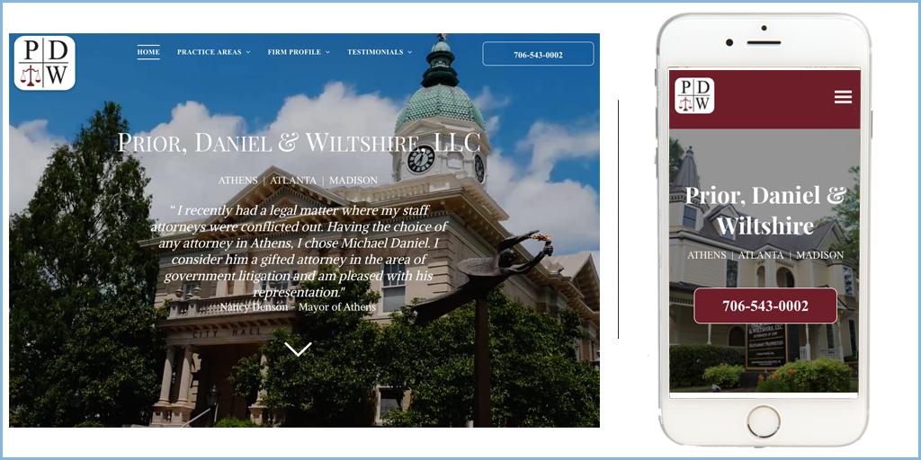 Prior Daniel Wiltshire Athens Lawyers Website